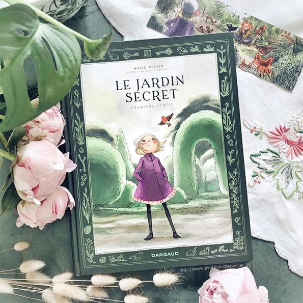 Bande dessinée : Le jardin secret de Maud Begon