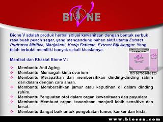 Manfaat bione v dari pt bioesa