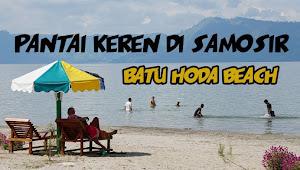Video: Wow., Indahnya Batu Hoda Beach di Samosir