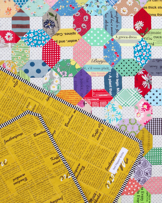 Hand Pieced Kansas Dugout Quilt - Japanese Fabrics | © Red Pepper Quilts 2020