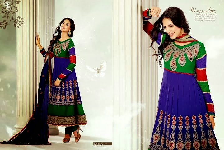 d5a3be580 Latest Designs Of Indian Anarkali Frocks
