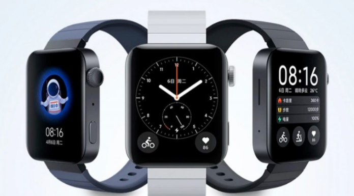MI Watch lite launched with 9 days battery backup Heart Rate Monitoring