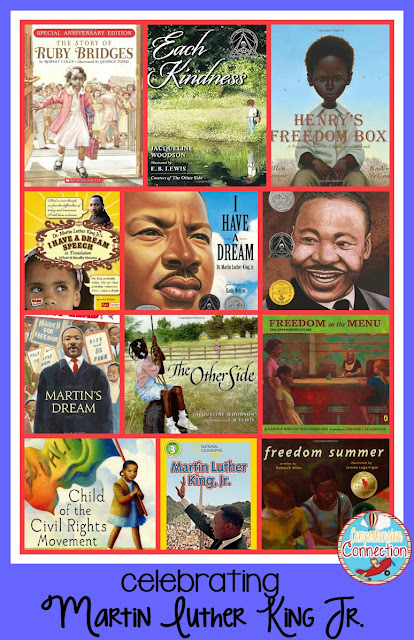MLK Day is a special celebration time. Check out this post for a collection of book ideas, activities, resource ideas, and FREEBIES!