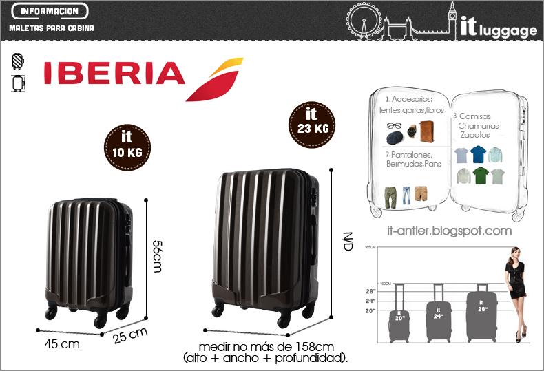 Medidas maletas de cabina y peso equipaje antler y it luggage - Medidas maleta de cabina ryanair ...