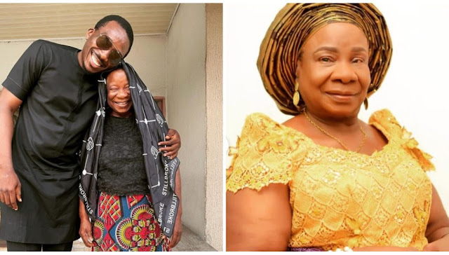 I am her first Grandchild- Comedian Bovi celebrates his Grandmother at 81 (Photos)
