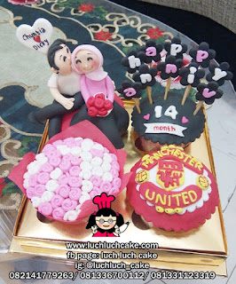 Birthday Cupcake Manchester United