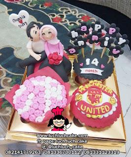 Birthday Cupcake Manchester United