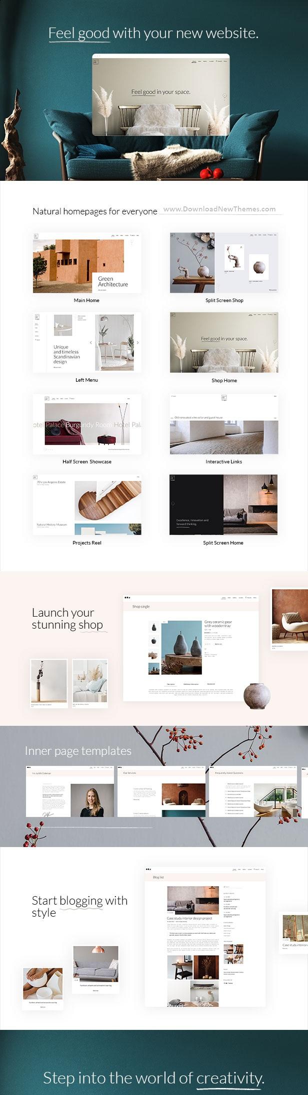 Architecture and Interior Premium WordPress Theme