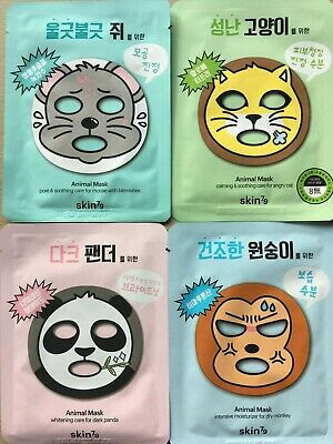 Skin79 Animal Face Masks