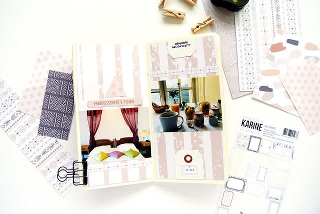 Traveler's Notebook - Karine Cazenave collection Nomade