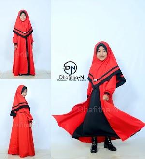 Gamis Anak Perempuan Model Terbaru - Dhafitha N | Awaliah
