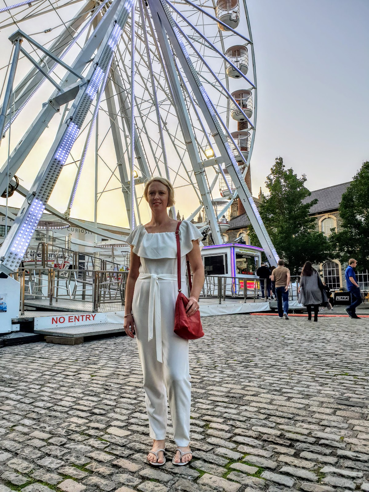 White Jumpsuit And Nearly A Trip To Bristol! OOTD