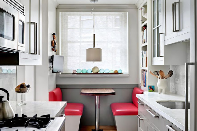Small Kitchens With Breakfast Nook
