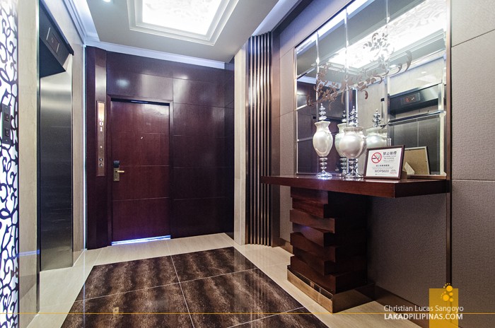Metropole Hotel Macau Elevator Lobby