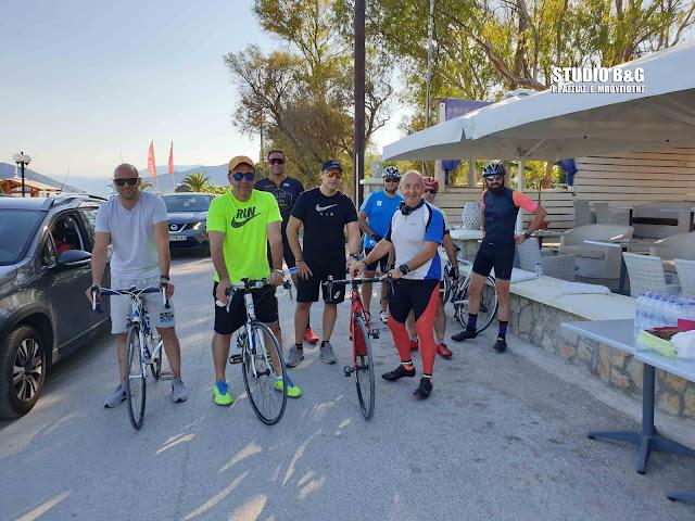 Με επιτυχία η ποδηλατοπορεία από τη Διεθνή Ένωση Αστυνομικών Αργολίδας