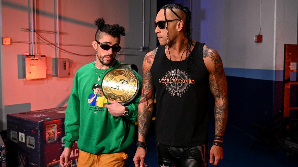 Bad Bunny pediu para trabalhar com Damian Priest na WWE
