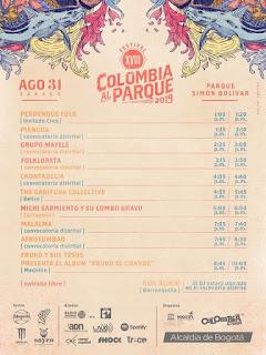 Programación COLOMBIA AL PARQUE