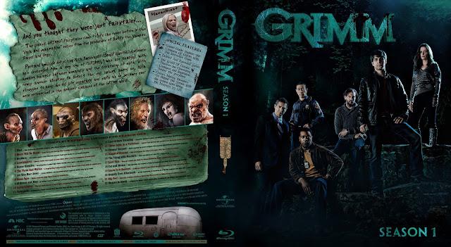 Capa Bluray Grimm Primeira Temporada Completa