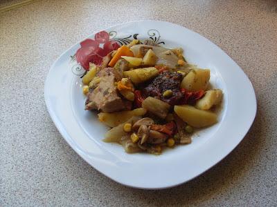 Τα διάφορα κρέατα με τα λαχανικά δένουν υπέροχα και δίνουν άρωμα και γεύση