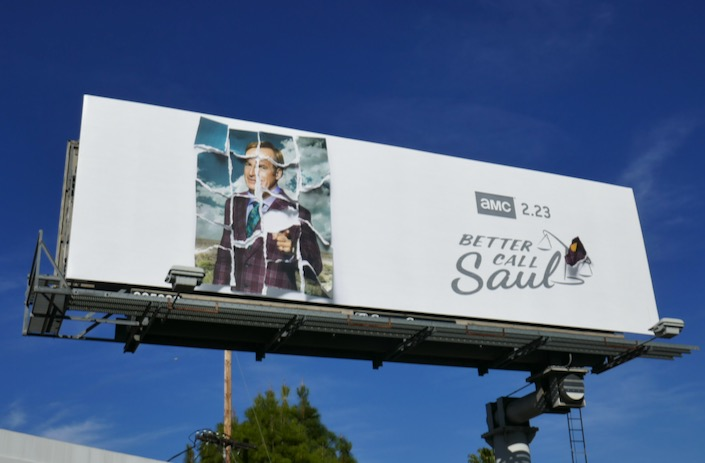 Better Call Saul season 5 billboard