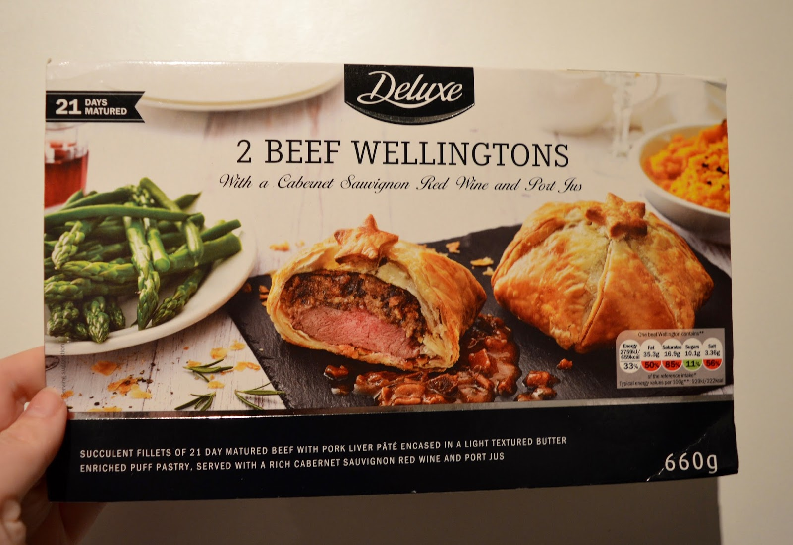 We review Christmas food at Lidl - Mains & Sides | What to Buy & What to Avoid - 2 Deluxe Beef Wellingtons