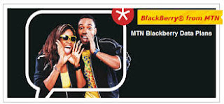 MTN DATA PLANS FOR BLACKBERRY AND ACTIVATION CODES