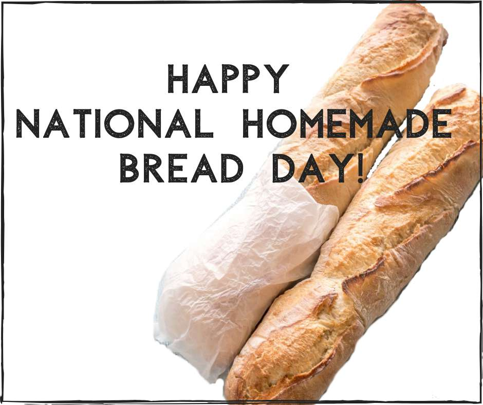 National Homemade Bread Day Wishes for Whatsapp