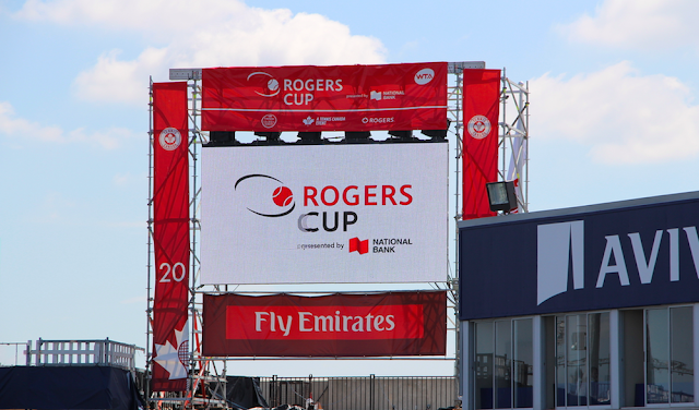 Rogers Cup Semi-Finals Match With Emirates Airline