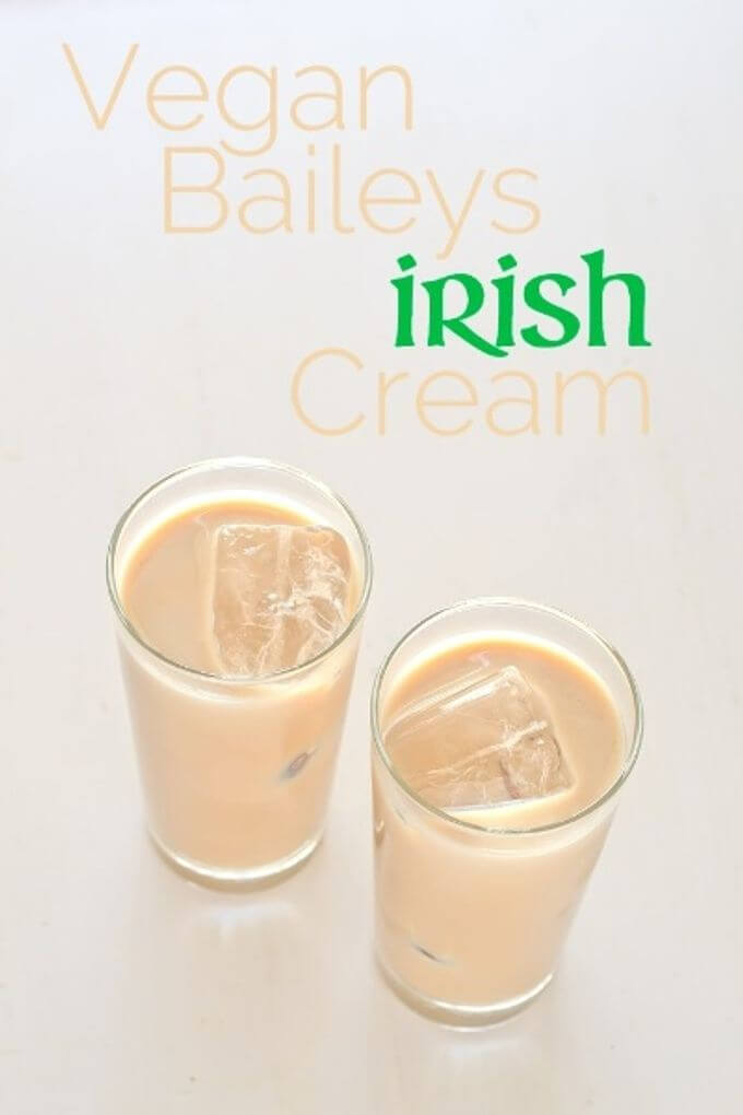 Vegan Baileys Irish Cream | danceofstoves.com #vegan #baileys