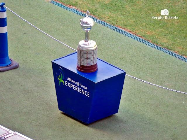 Close-up da Taça Libertadores da América - Allianz Parque Experience - São Paulo
