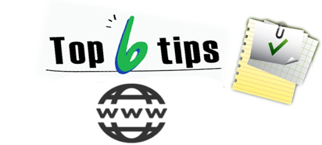 Top 6 tips for a great domain name