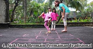 Ajak Anak Bermain Permainan Tradisional merupakan salah satu cara menanamkan jiwa nasionalisme pada anak sejak dini