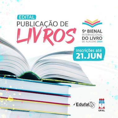 Edufal lança edital de publicação de livros para Bienal de Alagoas