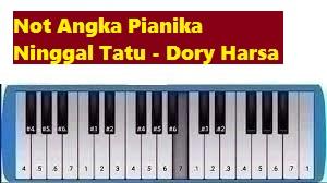 Not Angka Pianika Ninggal Tatu Dory Harsa Calonpintar Com