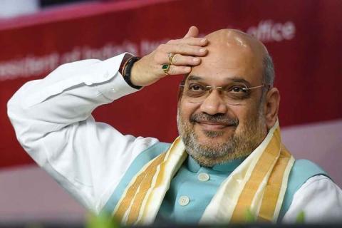आम आदमी पार्टी ने दावा किया है कि दिल्ली के लाजपत नगर में जहां अमित शाह