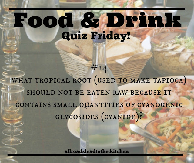 Food & Drink Quiz Friday #14