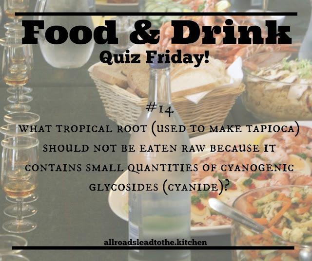 Food & Drink Quiz Friday #14