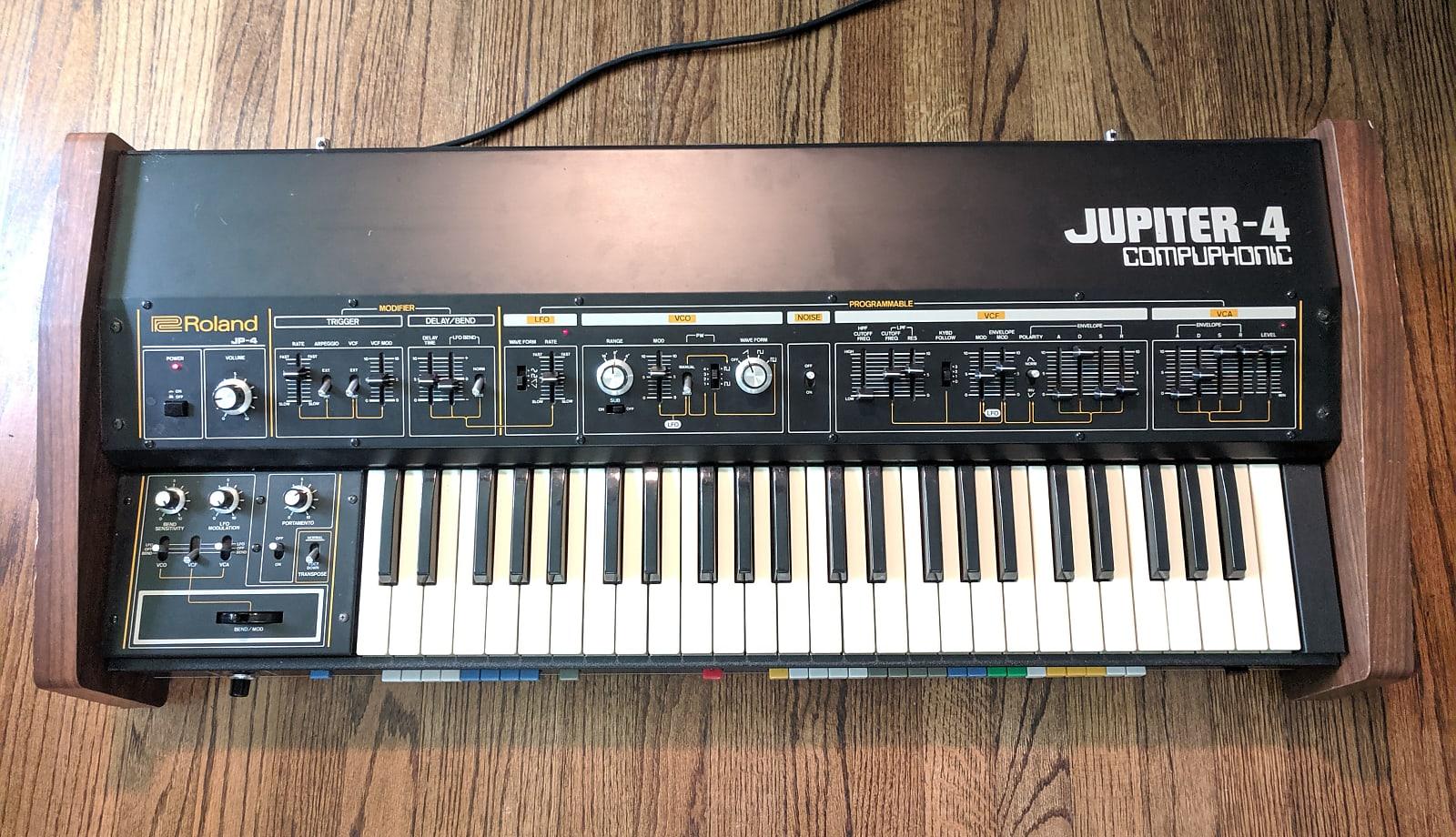 MATRIXSYNTH: Roland Jupiter 4 Analog Synthesizer