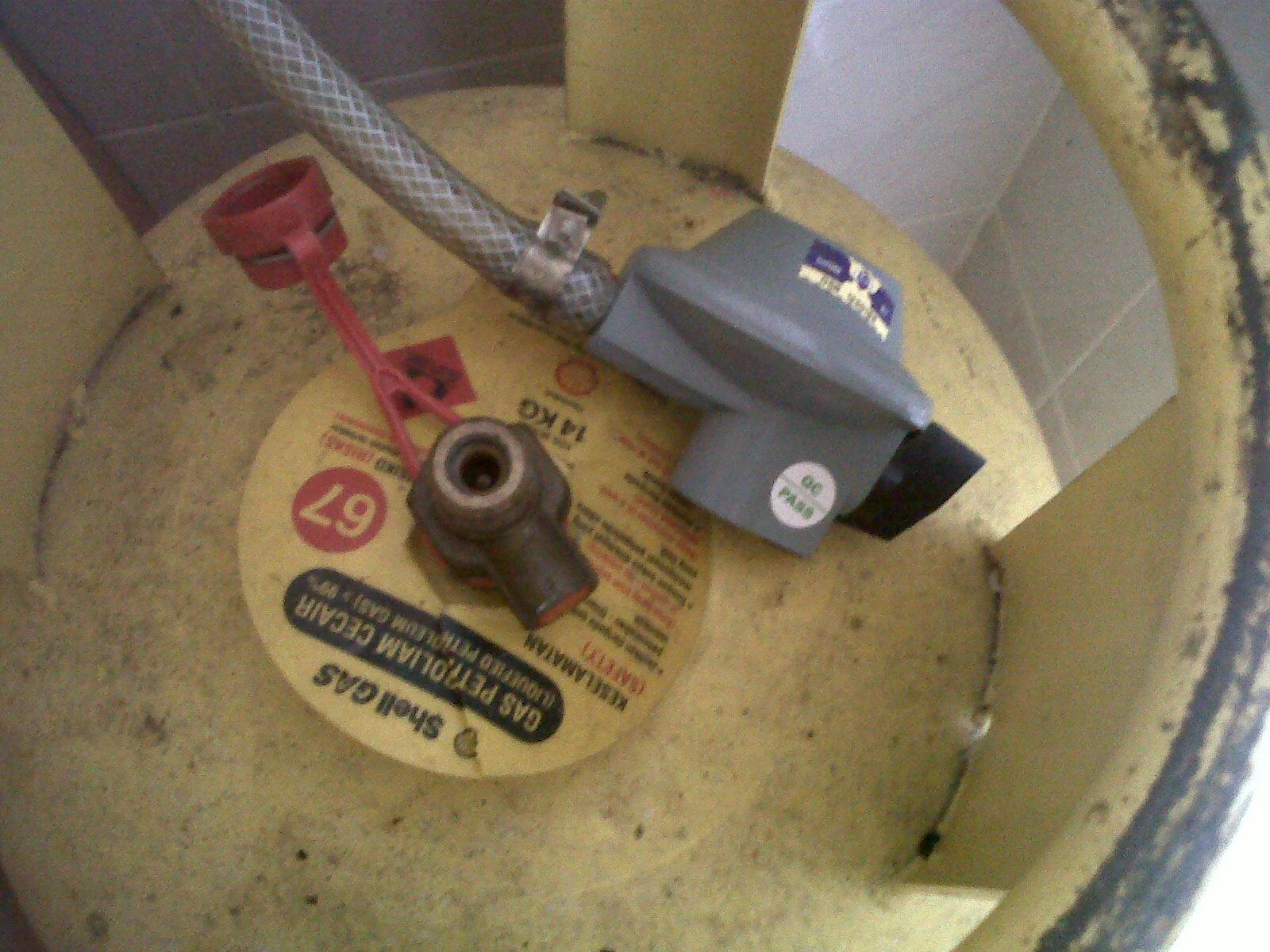 Sebelum Sambung Pastikan Kunci Kepala Gas Tunjuk Arah Jam Pukul 12