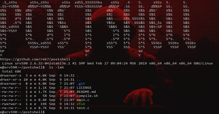 PostShell – Post Exploitation Bind/Backconnect Shell