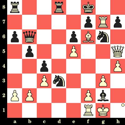 Les Blancs jouent et matent en 4 coups - Eugenio Torre vs Noel Craske, Stockholm, 1969