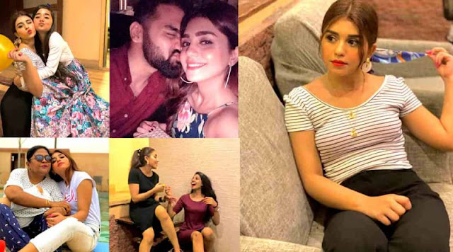 Actress Anumta Qureshi Gorgeous Family Pictures