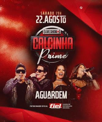 Calcinha Preta - Live Show - Agosto 2020