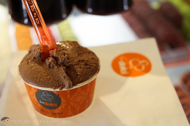 Ferrero and Dark Chocolate Gelato by Bar Dolci