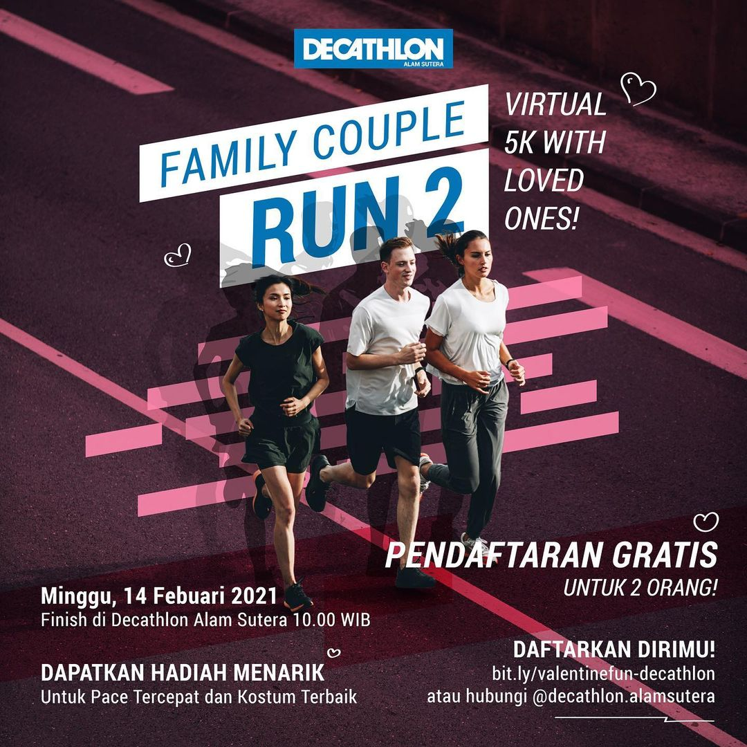 Family Couple Run 2! • 2021