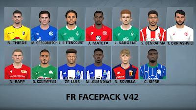 PES 2017 Facepack v42 by FR Facemaker