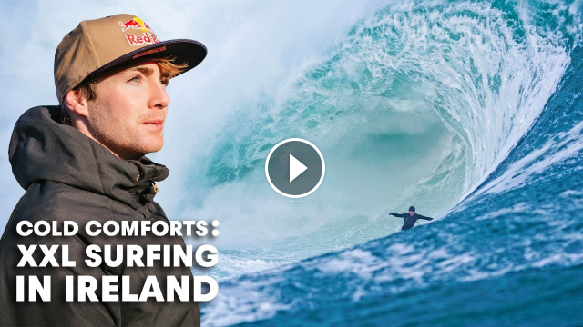 Ever Wonder What It s Like To Surf Ireland s Biggest Waves In The Dead Of Winter