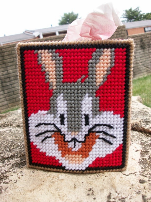 Bugs Bunny Tissue Box Cover