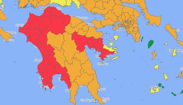 """Η Αργολίδα στο """"κόκκινο"""": Ποια μέτρα θα ισχύουν σε όλο το νομό"""