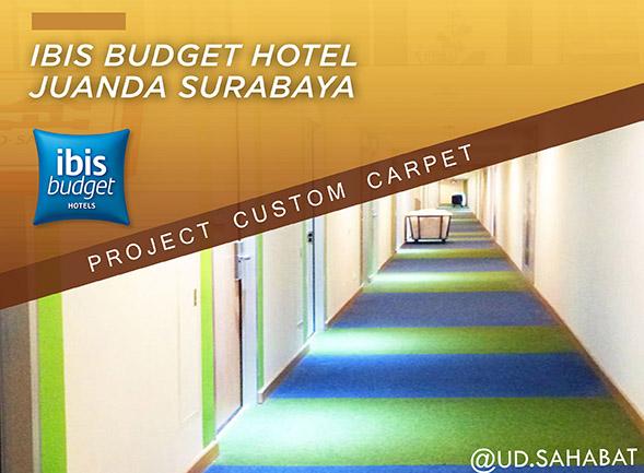 jual karpet hotel ibis surabaya